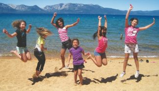 Submitted to the TribuneBoys & Girls Club girls jump for joy at the Girls Gone Wise/Girls Empowerment program.