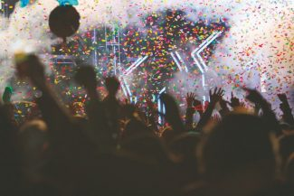 Dylan Silver / Tahoe Daily Tribune fileFans reach into the air as confetti falls during the 2011 New Year's Eve celebration at the SnowGlobe Music Festival in South Lake Tahoe.