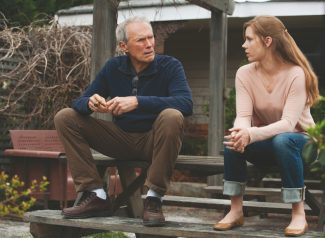 """Clint Eastwood and Amy Adams reconnect as father and daughter  in """"Trouble with the Curve."""""""