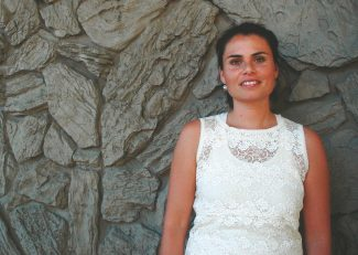 Axie Navas / Tahoe Daily TribunePolitical science graduate Catalina Goralski from Santiago, Chile, worked at Heavenly Mountain Resort as a cashier before getting a teaching job at Lake Tahoe Community College.