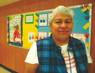 Axie Navas / Tahoe Daily TribuneMargarita Galban is shown at Sierra House Elementary School, where her youngest son is currently enrolled.