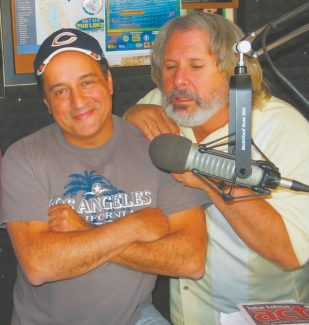 """Rocky LaPorte is from the city of the broad shoulders, allowing a perch for KRLT disc jockey and Harveys Improv host Howie Nave. LaPorte and Larry """"Bubbles"""" Brown appear at the comedy club every night through Sunday."""