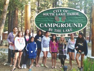 Provided to the TribuneStudents pose for a photo during the Boys & Girls Club of Lake Tahoe Girl Empowerment Program last summer. The club faced a $130,000 deficit this year and had to raise membership fees and cut some all-day programs.