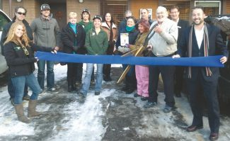 TahoeChamberA ribbon cutting and book signing was held Dec. 13 at The Center for Higher Learning.