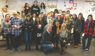 Provided to the TribuneMt. Tallac High School students pose for a photo.