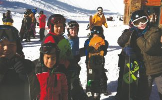 Provided to the TribuneSOS program participants are show at Heavenly Mountain Resort. This year, SOS plans to serve around 150 youth from South Lake Tahoe.
