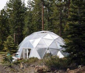 File photoYear-round growing in colder climates is possible with this example of a state-of-the-art Growing Dome, which the Truckee Elementary School proposes be built on school property primarily for education purposes. The dome pictured here is located in the Juniper Hills subdivision near Glenshire and is operated by Kelly Brothers Painting.