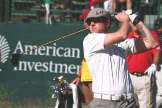 Rascal Flatts lead guitarist Joe Don Rooney plays at Edgewood Golf Course in 2010. It is probably no coincidence Rooney and his band will perform at Tahoe this summer during celebrity golf weekend.