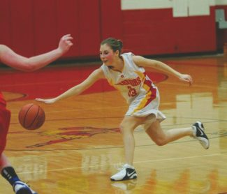 Boyd Dangtongdee / Special to the Tribune Jenny Shepack uses her speed against Truckee on Tuesday at Whittell High School.