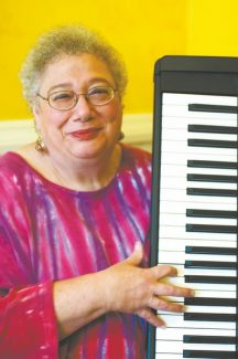 "Rebecca Sell Ann Rabson ""gave death the finger as long as she could and gave life 10 fingers on her piano."" She died Wednesday at the age of 67."