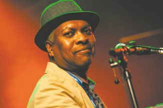 Booker T. Jones was the leader of the Stax Records house band Booker T. and the MGs.