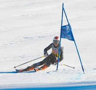 Courtesy of Raquel Norton Payton Norton placed third both days of the Far West Parallel competition at Squaw Valley last weekend.