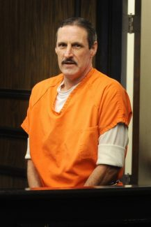 Mountain Democrat photo by Krysten KellumAndrew Sanford appears in court for a preliminary hearing Feb. 7. He is accused of killing of Richard Swanson in 1980.