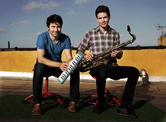 Dan Tepfer, left, and Ben Wendel will appear Friday at Truckee's jazz venue, Moody's Bistro & Lounge.