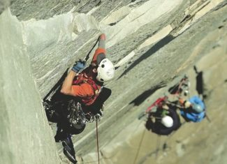 """Provided to the TribuneA photo shows climbers featured in """"The Gimp Monkeys,"""" one of the films included in this year's Wild & Scenic Film Festival."""
