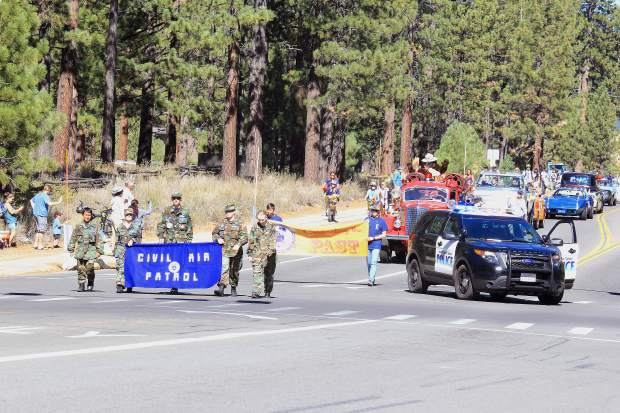 The City of South Lake Tahoe hosted a 50th aniversary parade Saturday, Sept. 19. Hundreds of local community members participated in the celebratory event.