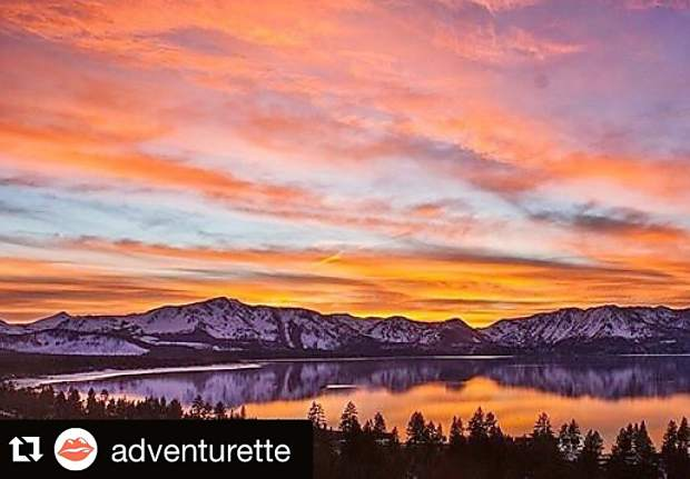 This view though. Submitted using #TahoeSnaps.