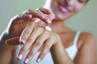 Ointments or creams tend to work better foe your skin, and irritate less, rather than lotions.