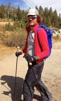 JB Benna hikes Tahoe Rim Trail, unsupported, for a record in late September.