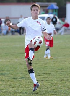 Thomas Arnstein is one of eight seniors on the Truckee soccer team.