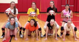 The Whittell girls volleyball team is shown. They played their final game of the season last weekend.