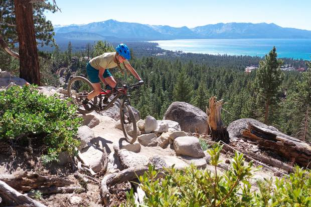 Biking Trails Easy And Difficult Exist In Abundance On Tahoe S