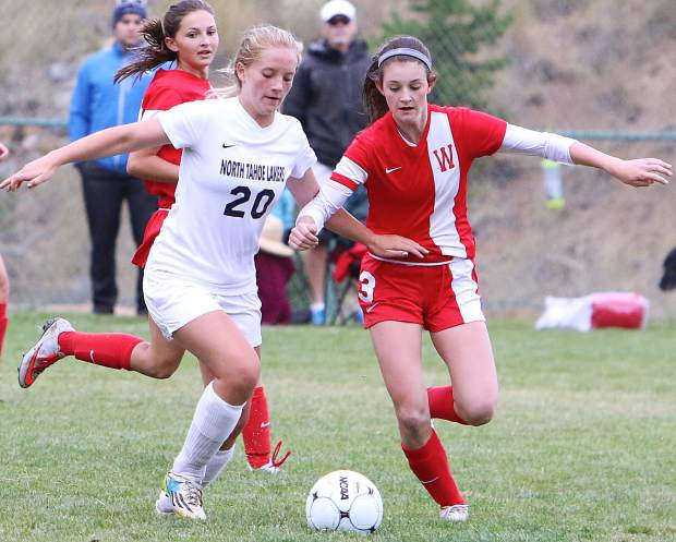 whittell girls soccer suffers first loss  falls at north tahoe 2