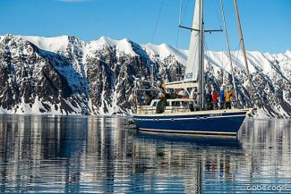 South Lake Tahoe's Todd Offenbacher visited Spitsbergen. The film he was with traveled the island by boat and skied dozens of fresh lines. Offenbacher will present on his travels next week.