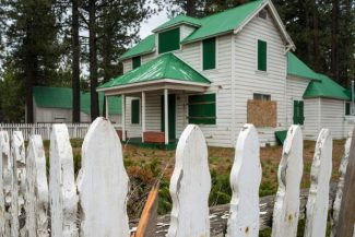 The owners of the historic Barton Ranch are applying for a demolition permit to tear down nine buildings on the property, located along U.S. 50 in South Lake Tahoe.