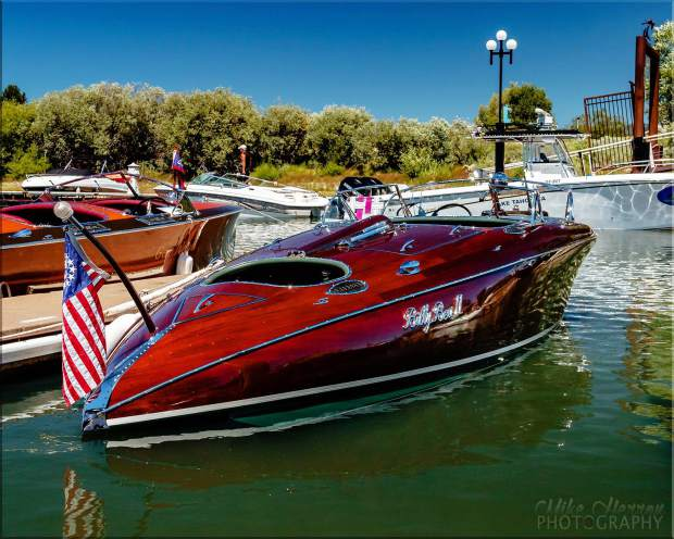 start your engines south tahoe wooden boat classic