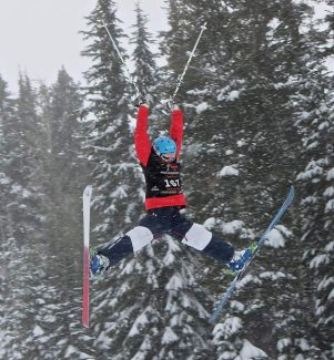 Heavenly Ski Foundation's Taryn Baker won first in singles and duals at the divisional championships at Squaw Valley Resort on March 1-2.