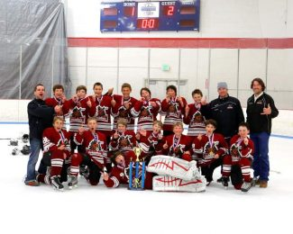 The Tahoe Grizzlies peewee A team won the Northern California Championship by defeating the Fresno Monsters 2-1 on Sunday.