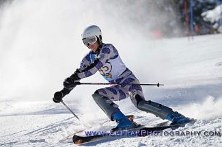South Tahoe boys claimed third in team points at Wednesdays slalom races at Alpine Meadows.