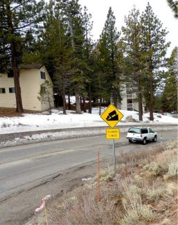 The top of Kingsbury Grade. The Nevada Department of Transportation plans to repave the highway from the summit down to the intersection of Highway 50 starting this summer.