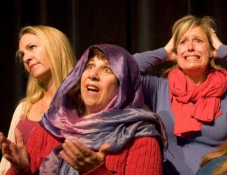 Motherhood Out Loud comes to the Valhalla Art, Music and Theatre Festival this weekend.