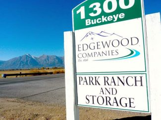 The sign at the entrance of Edgewood Companies and Park Cattle on Buckeye Road in Minden.