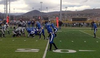 The South Tahoe Jr. Pee Wees traveled to Sparks Nv. to take on the Reno South Jr. Pee Wees this past weekend.
