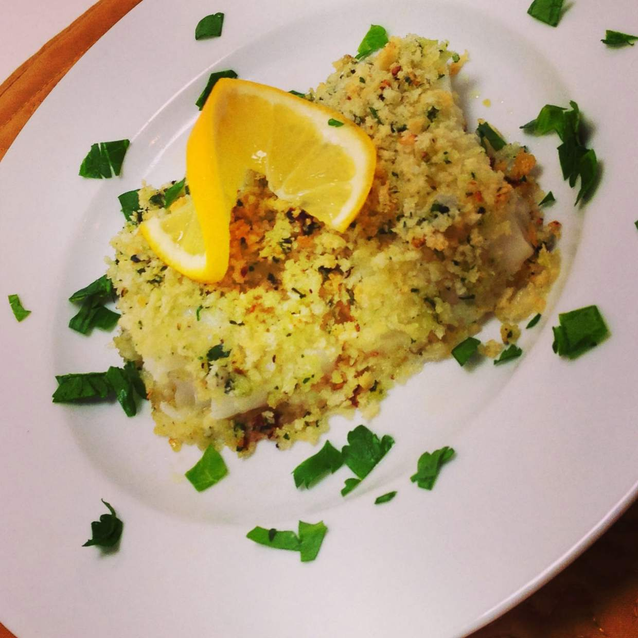 Arica davis quick and easy fish dinner recipe for Easy fish dinner