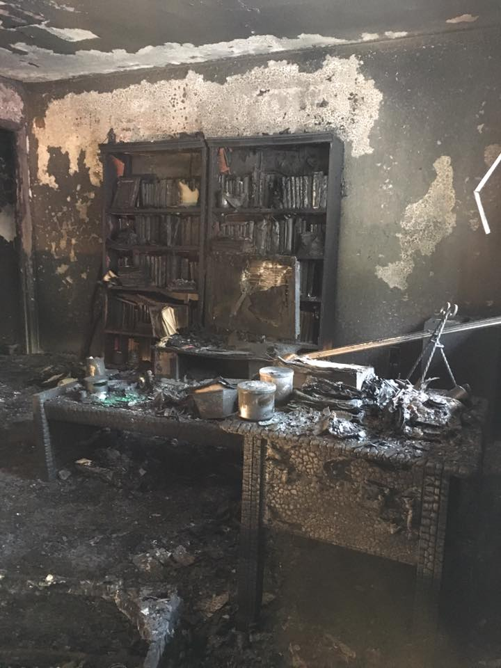 The apartment where the fire started in uninhabitable, according to fire rescue officials.