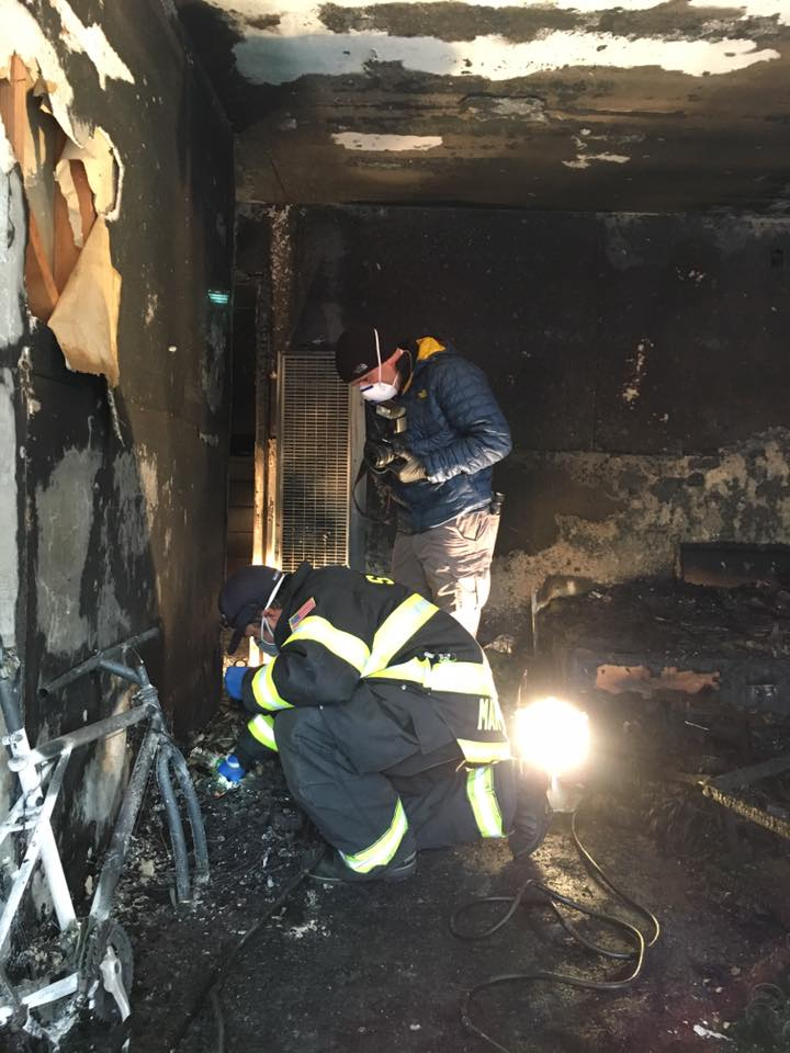 The cause of the fire is still under investigation, but more details will be released as they become available.