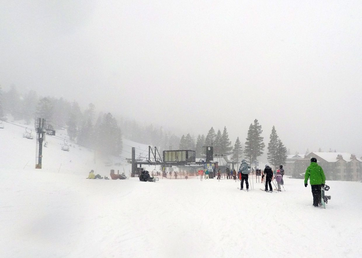 lake tahoe weather: south shore ski resorts report 10-15 inches of