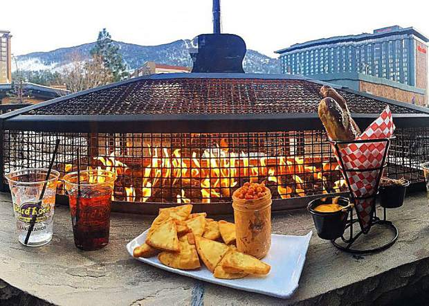 Fire and chill. Get warm and full with us at Alpine Union.