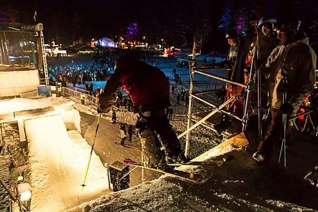 First round of 2016 @snowglobe Big Air Athlete's announced! Don't forget to look up in between the beats to watch some of Tahoe's best skiers + riders launch themselves over 30 feet above the crowd!