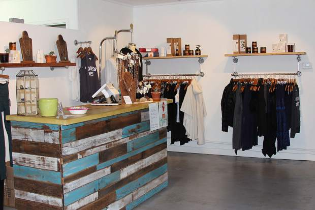 South lake tahoe local opens live love yoga boutique for Lake tahoe jewelry stores