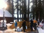 Officials in South Lake Tahoe and throughout the region prepare for an approaching storm.