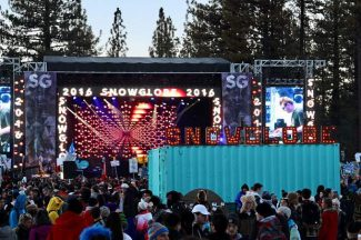 The first night of the three-day SnowGlobe Music Festival resulted in 61 total transgressions, ranging from minors in possession to trespassing.