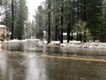 Flooding near the Truckee River and streams in the Tahoe Basin is likely to continue Monday morning.