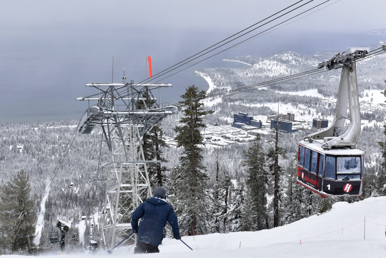 Heavenly Mountain Resort on Saturday morning reported 18 inches of new snow in 24 hours.