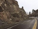 A mud slide on the eastern side of Kingsbury Grade indicates how much moisture fell during a recent storm.
