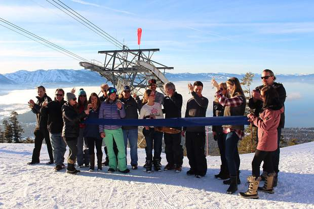 Tahoe Mountain Lab hosted a grand opening event for its second coworking space atop Heavenly Mountain Resort.